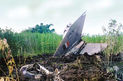 MiG Crash at Assam on July 2002