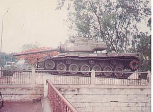 M47 Patton at Rotary Park, Tankbund
