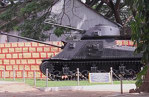 M3 Lee tank at Ulsoor