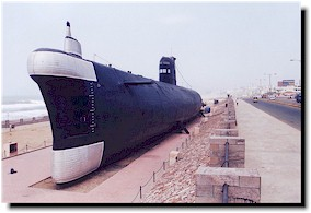 Submarine Museum at Vizag
