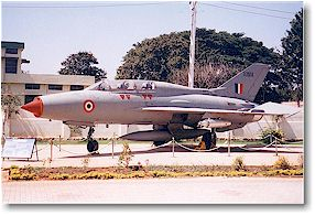 Click to Enlarge - An Immaculate MiG-21 U [U-2794] forms part of the collection at the HAL museum.
